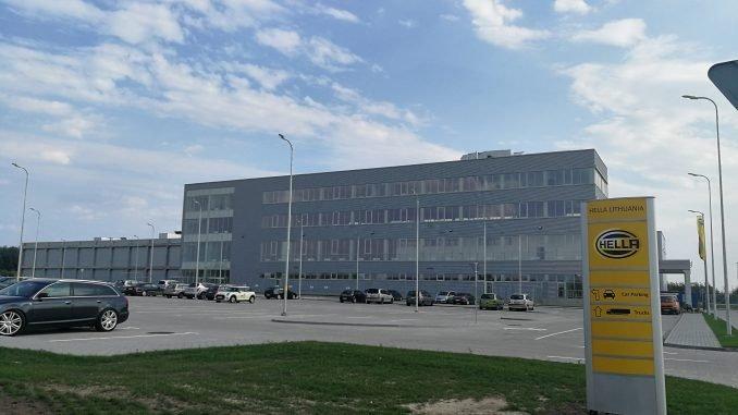 HELLA factory in Kaunas FEZ
