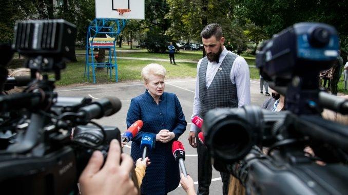 Dalia Grybauskaitė, Jonas Valančiūnas