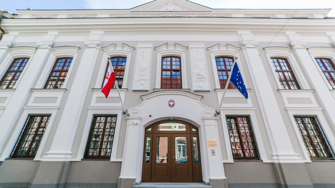 Polish embassy in the Pac Palace