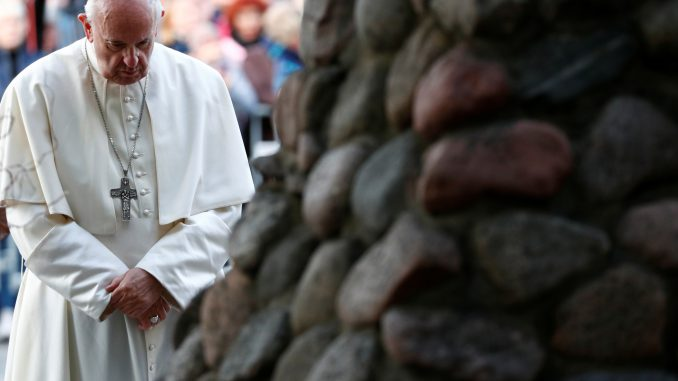 Pope Francis' visit at the Occupations and Freedom Fights Museum