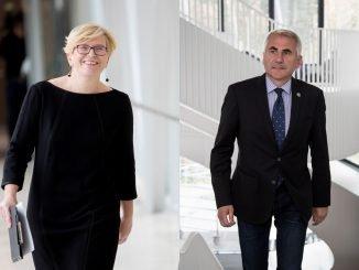 Ingrida Šimonytė and Vygaudas Ušackas