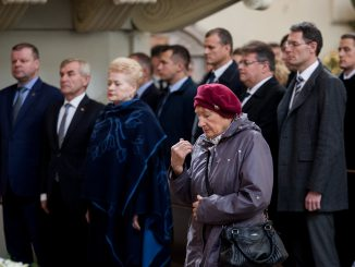 Lithuanian heads of state pay tribute to A. Ramanauskas-Vanagas