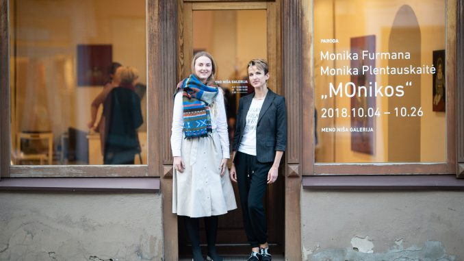 Monika Plentauskaitė and Monika Furmana