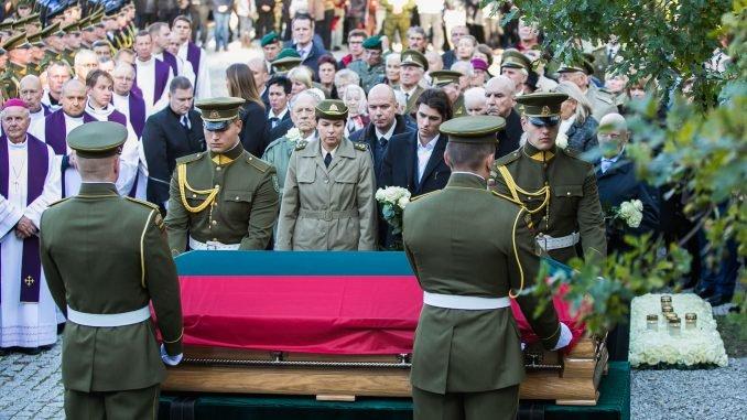State funeral of Adolfas Ramanauskas-Vanagas