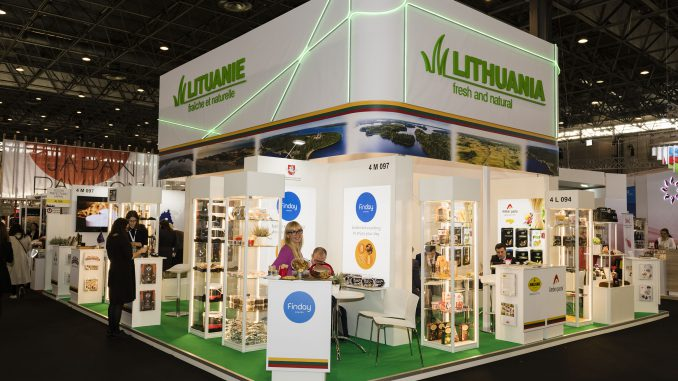 Lithuania's National Stand at SIAL in Paris
