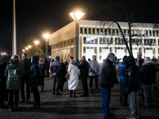 Protest by the Seimas