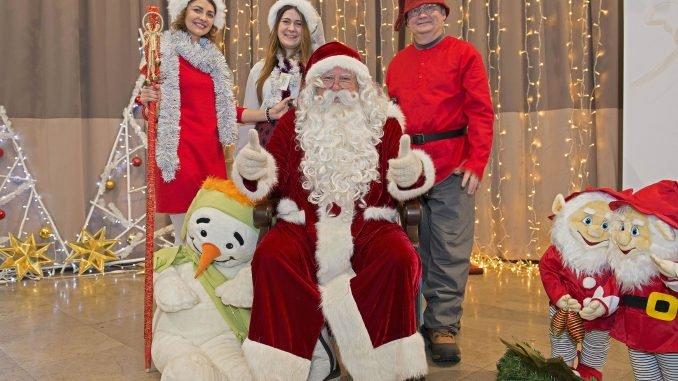 The Real Finnish Santa at the 2017 International Christmas Charity Bazaar in Vilnius
