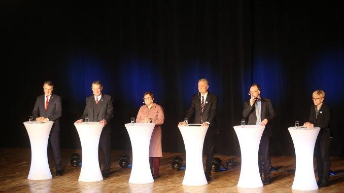 Presidential candidate debate