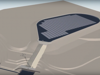 Floating solar power plant in Kruonis PSHP pilot project