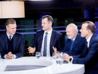 Gabrielius Landsbergis, Gintautas Paluckas, Eugenijus Gentvilas, Virginijus Sinkevičius