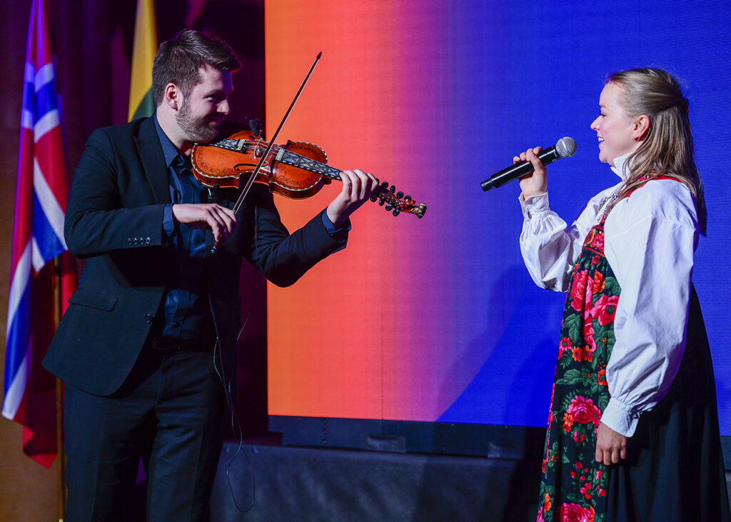 Beautiful Traditional Norwegian songs performed at the 10th Norwegian Lithuanian Chamber Gala Photo © Ludo Segers @ The Lithuania Tribune