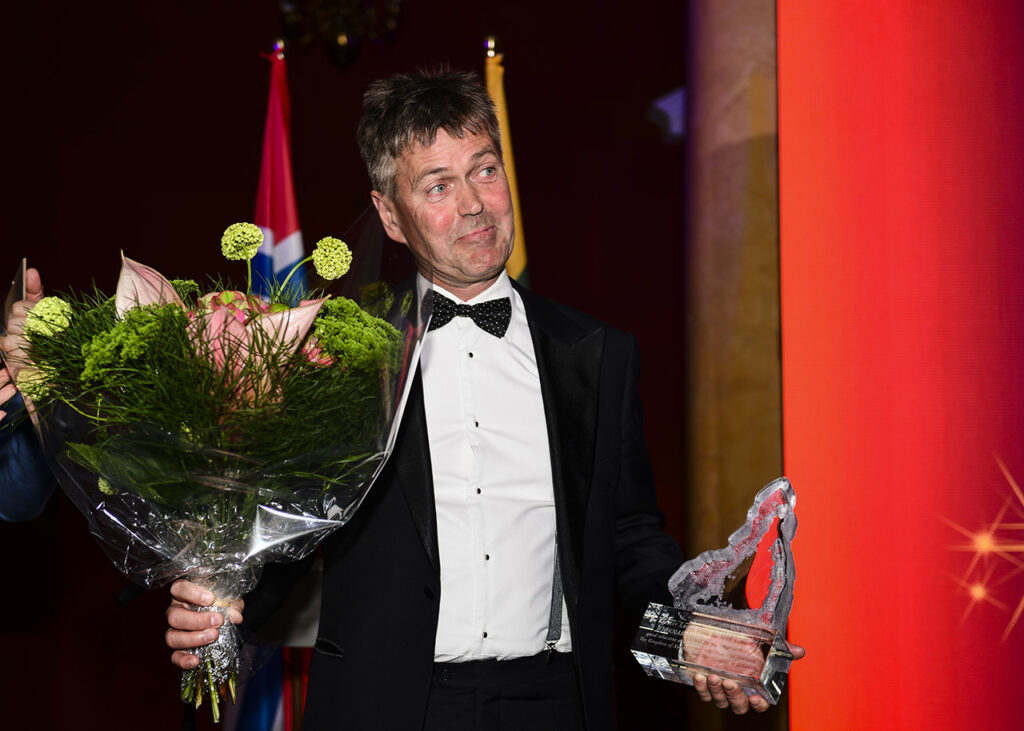 Kloster Lasse Award winner and former DBN Chair and CEO, Mr Bjørnar Lund Photo © Ludo Segers @ The Lithuania Tribune