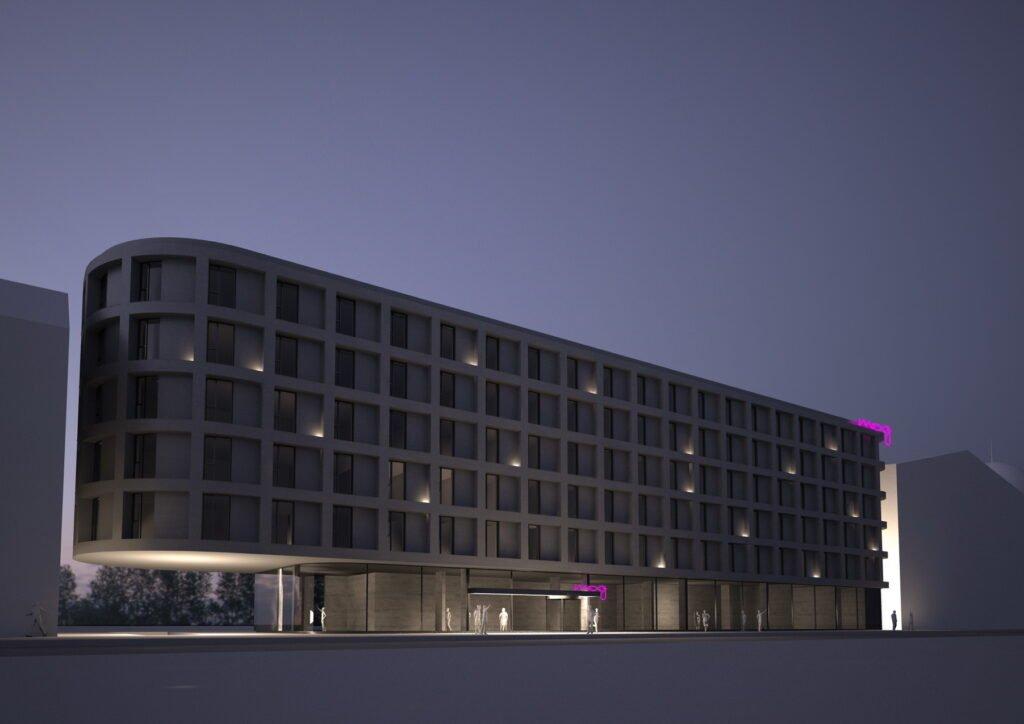 Moxy hotel in Kaunas