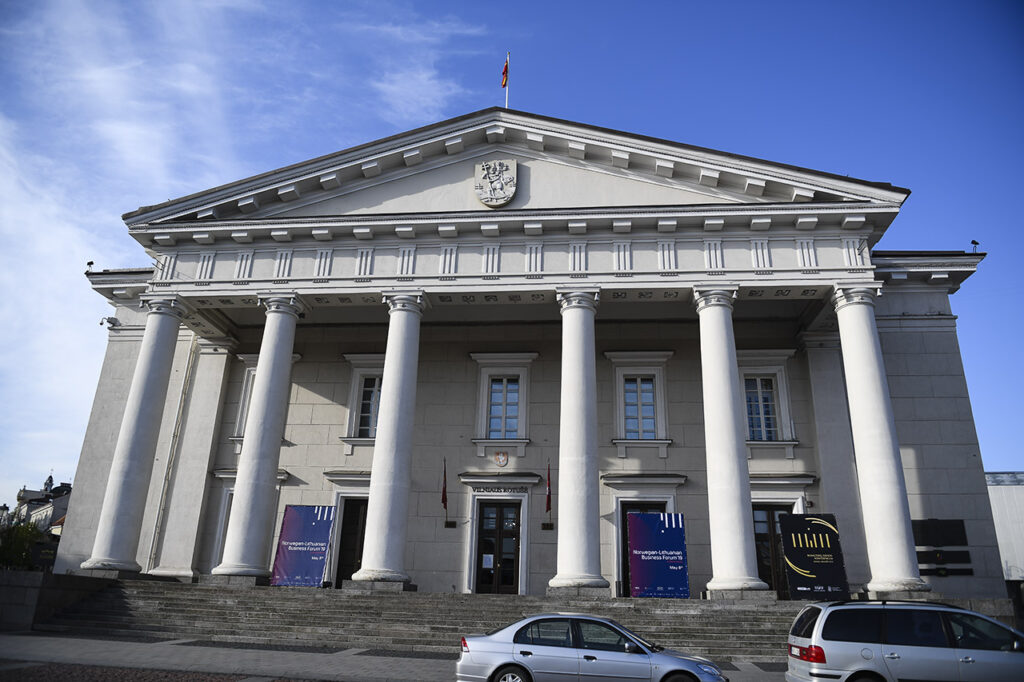 Vilnius Town Hall - Rotuse where the 5th Norwegian Business Forum took place Photo © Ludo Segers @ The Lithuania Tribune