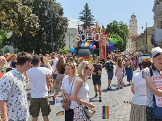 Baltic Pride In Vilnius. Photo Ruslanas Iržikevičius, the Lithuania Tribune