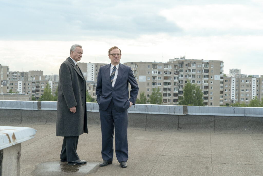 Chernobyl's shoot in Vilnius ©Sky UK LtdHBO