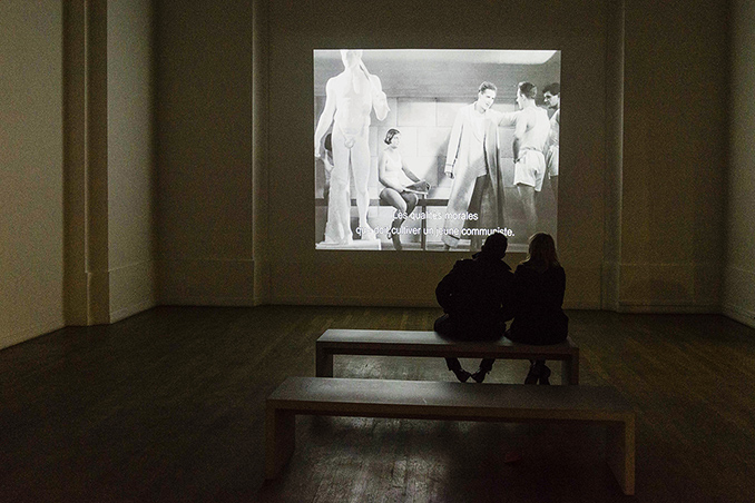 Stalinist ideal society at Rouge in Paris Photo © Ludo Segers @ The Lithuania Tribune