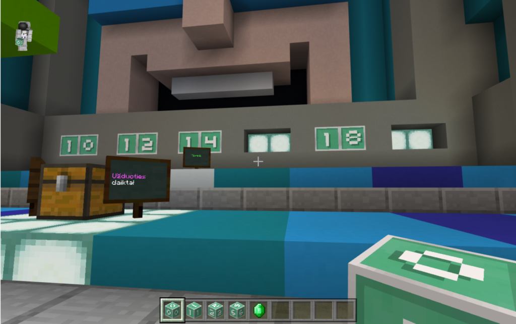 Minecraft in mathematics