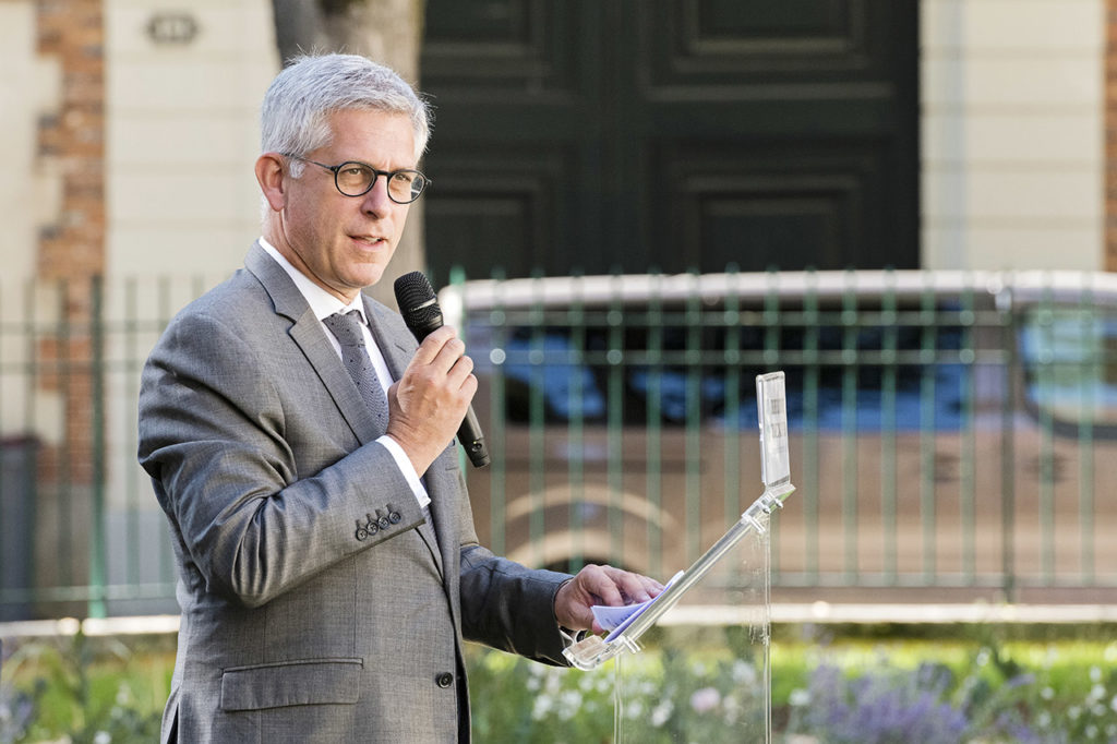 Fontainebleau Mayor Frédéric Valletoux Photo © Ludo Segers