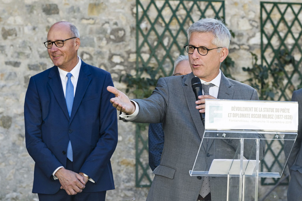 Fontainebleau's Mayor Frédéric Valletoux Photo © Ludo Segers