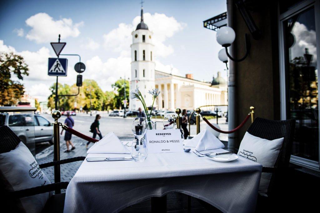 Vilnius restaurant Telegrafas ©Go Vilnius