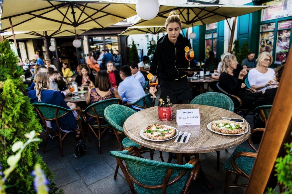 Vilnius restaurant Uzupio Picerija ©Go Vilnius