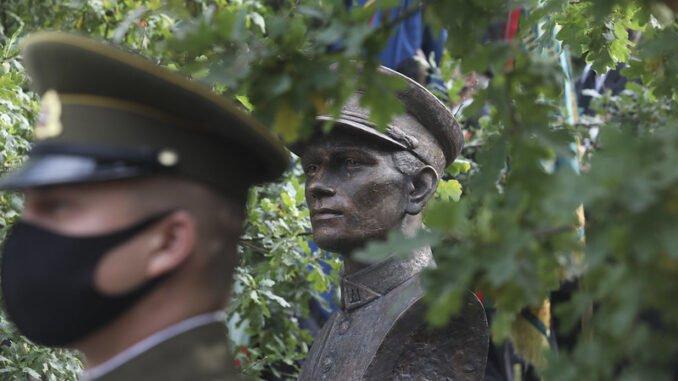 Vanagas Ramanauskas Monument. Photo by Olga Posaškova, Office of the Seimas